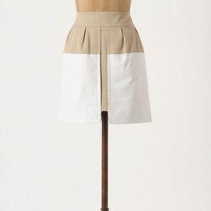 Anthropologie Skirt High Waist Leather Pencil